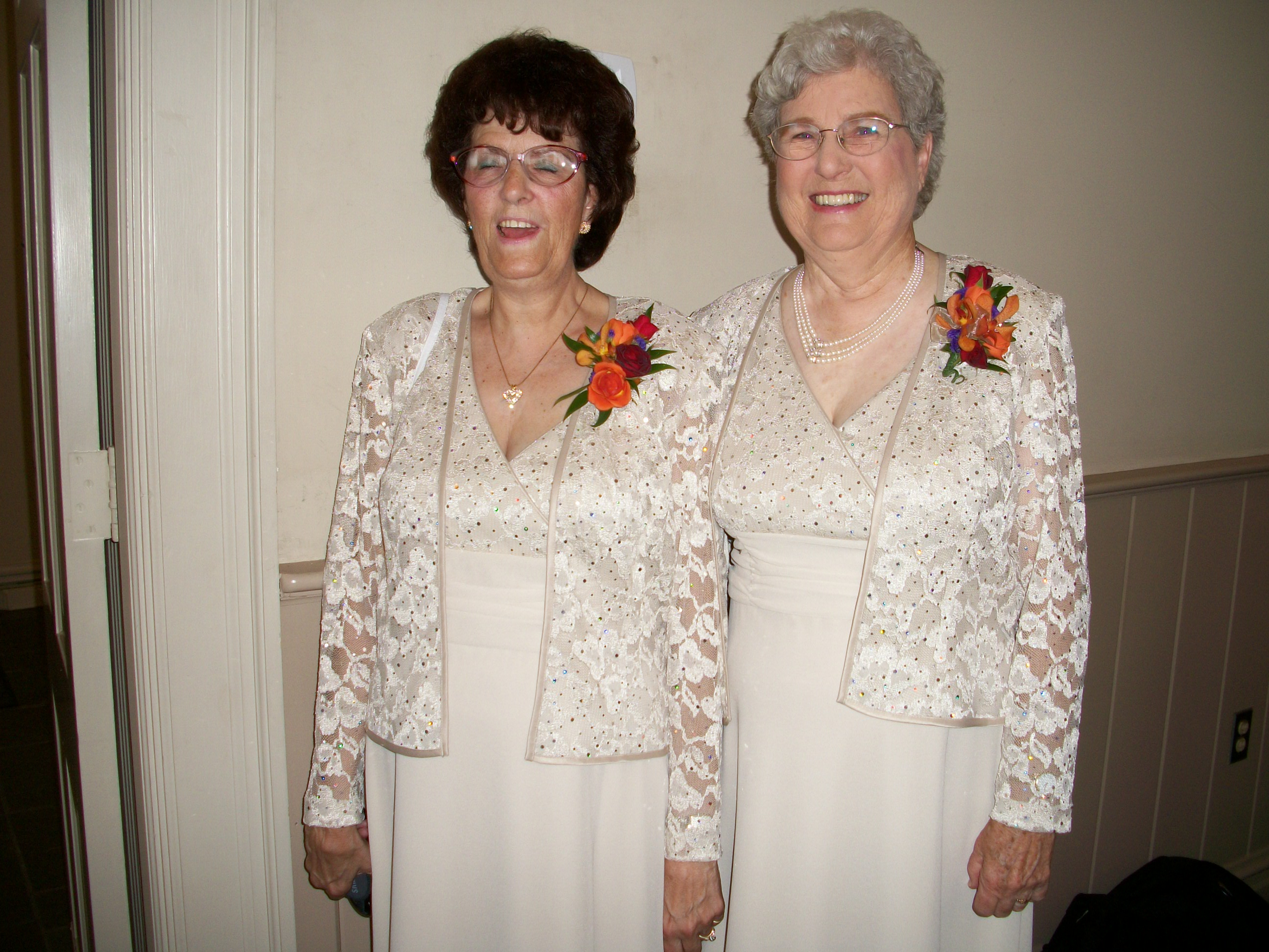 Wedding Dresses For Grandma : So what if the grandmothers picked same dress they both look